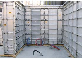 铝合金模板安装流程