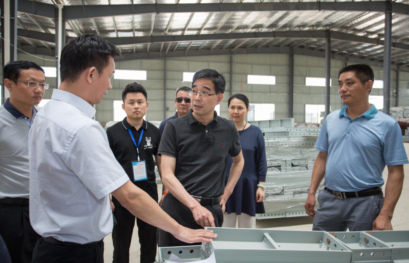 湖北省商务厅领导莅临元拓工厂考察调研